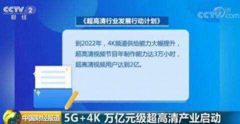 4k+5g战略新闻与传播资料