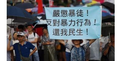 香港暴乱下的群体行为